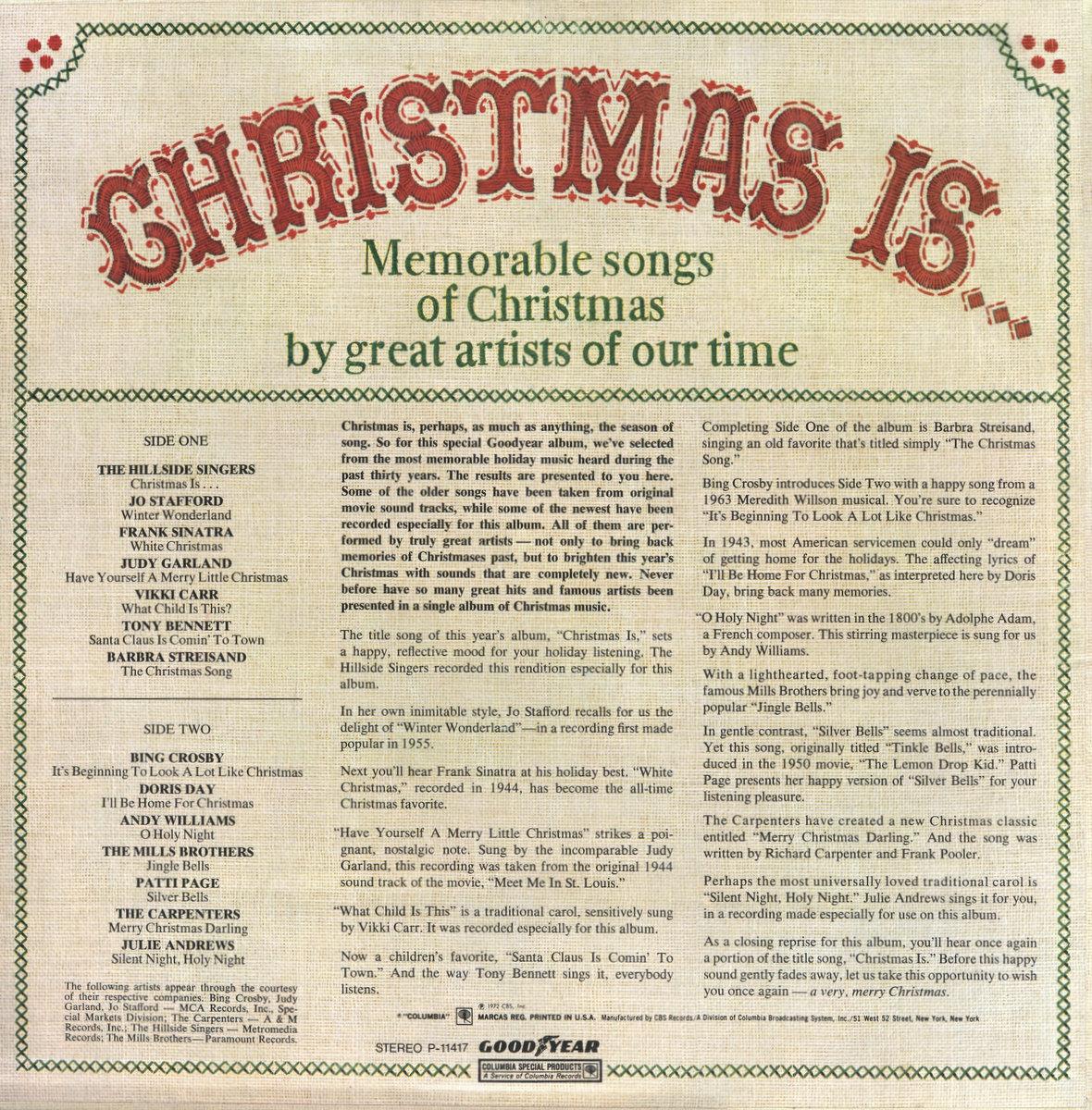 Great Songs Of Christmas Volume 12 – ultramaroon